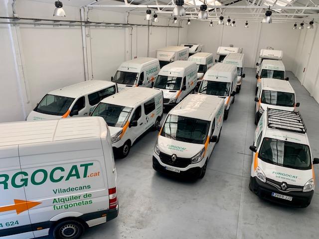 flota furgonetas